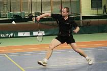 Ondřej Král. Liberecký badmintonista přispěl k bodu