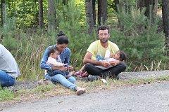 Uprchlíci. Ilustrační snímek