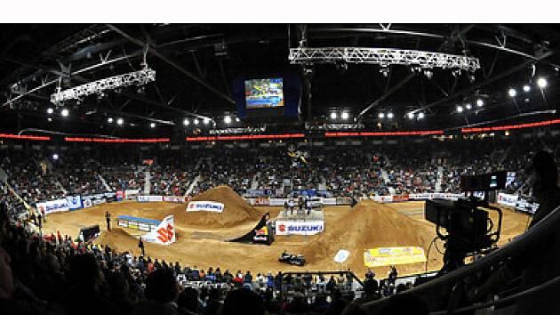 FIM World Championship SUZUKI Liberec 2008, Mistrovství světa Freestyle Motocross liberec 2008, Night of the Jumps. Vyprodaná Tipsport Arena v Liberci