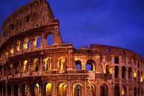 Římské koloseum. Ilustrační foto.