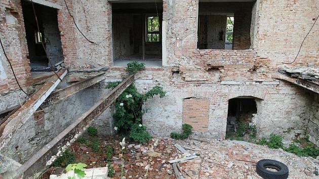Hotel Perun v Hejnicích.