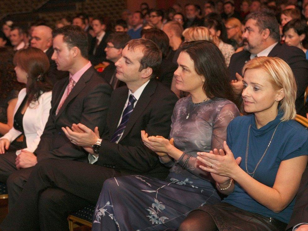 Vyhlášení nejlepšího sportovce roku 2012 Libereckého okresu.