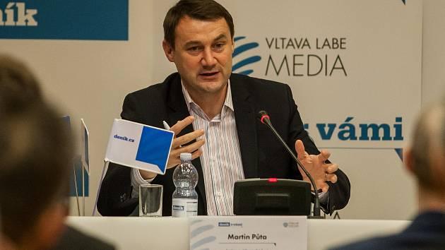 Hejtman Libereckého Kraje Martin Půta.