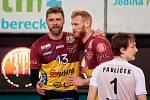 Volejbal muži Dukla Liberec - Lvi Praha 1. utkání o bronz