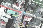 Plánovaná uzavírka ulice Boženy Němcové začne v pondělí 13. května. Proběhne zde rekonstrukce inženýrských sítí, tedy kanalizace, vodovodu a plynovodu.