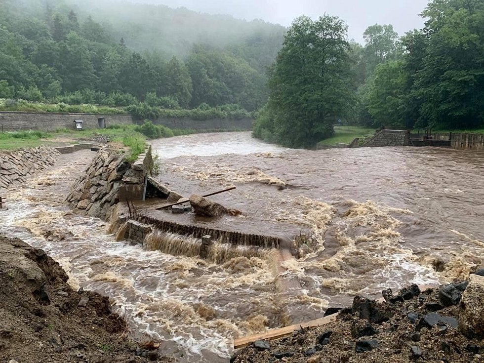 Ve Frýdlantě byl vyhlášen třetí stupeň povodňové aktivity