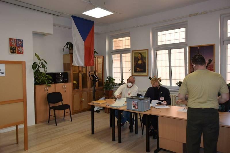 Volby ve Vazební veznici Liberec.