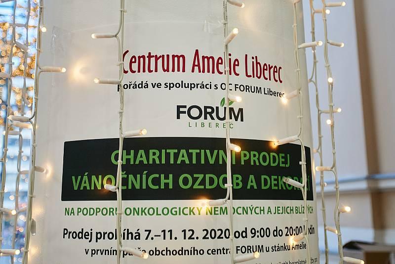 Centrum Amelie má stánek v obchodním centru Forum v Liberci.