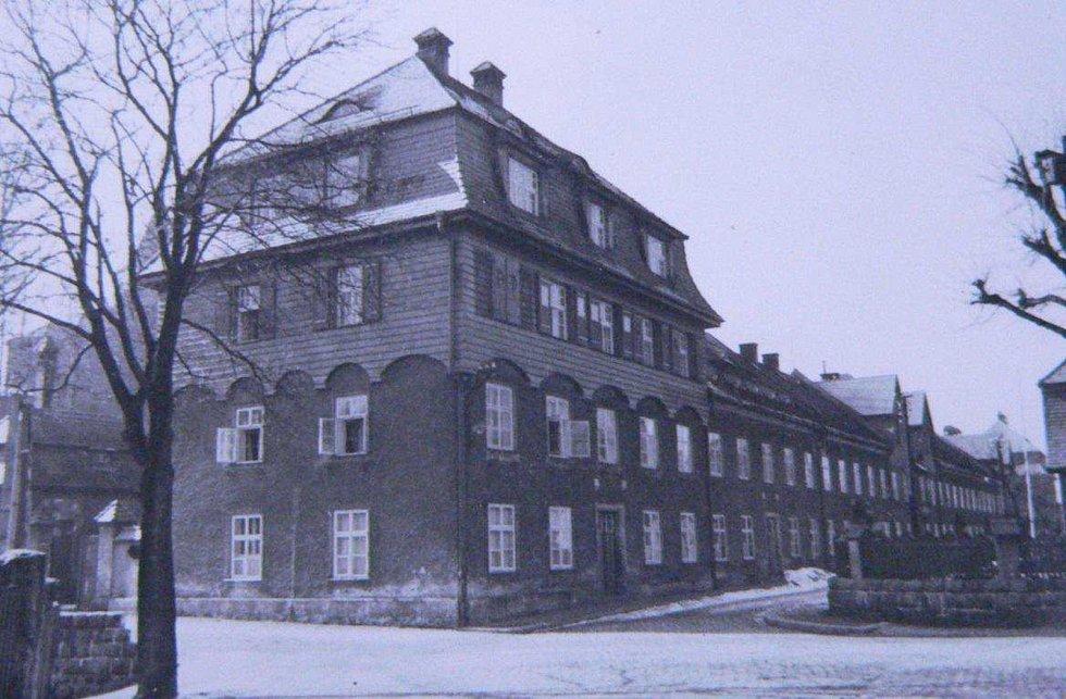Foto kotážového domu ze soupisu domů fy J. Liebiega & Comp. z roku 1940 od arch. A. Corazza, s. 277