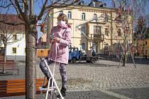 Marie Rydvalová, členka Ostrov života, spolku zaměřeného na pomoc dlouhodobě nemocným spoluobčanům.