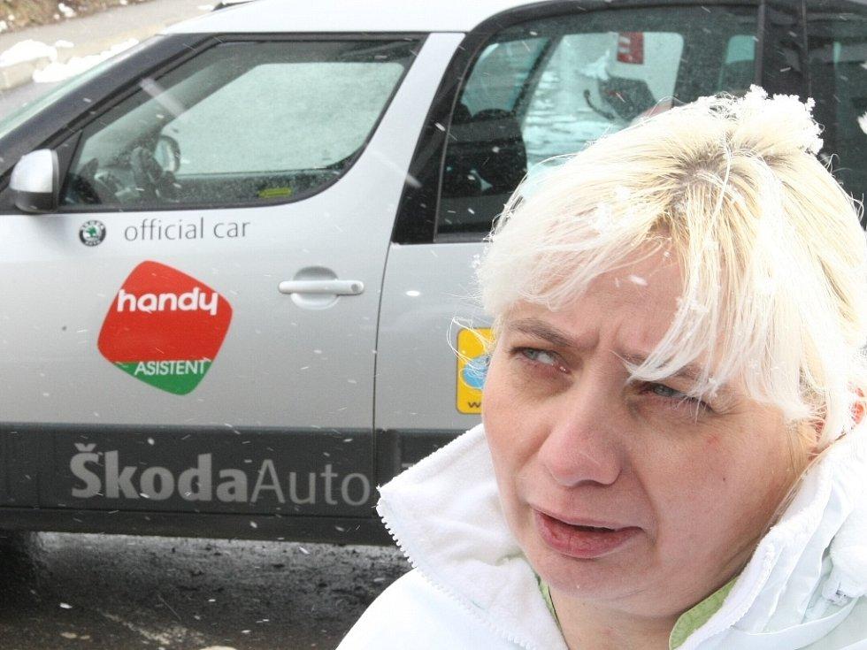 Lenka Zimmermanová získala od společnosti Car club nový upravený automobil za symbolickou jednu korunu.