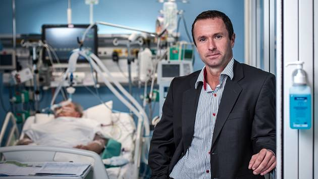 Ředitel liberecké nemocnice Luděk Nečesaný.