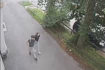 Chlapec a dívka, které hledají policisté z Liberce.