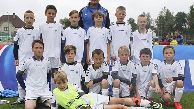 DVANÁCTÉ MÍSTO V HLINSKU. To byl liberecký Slovan U10.