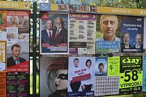 Kampaň před krajskými volbami v Libereckém kraji.