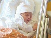ADÉLKA KLAUDYSOVÁ Narodila se 10. května v liberecké porodnici mamince Lucii Klaudysové z Rumburka. Vážila 3,62 kg a měřila 53 cm.