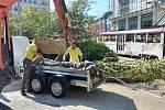 Místo trafiky zasadili v centru Liberce strom.