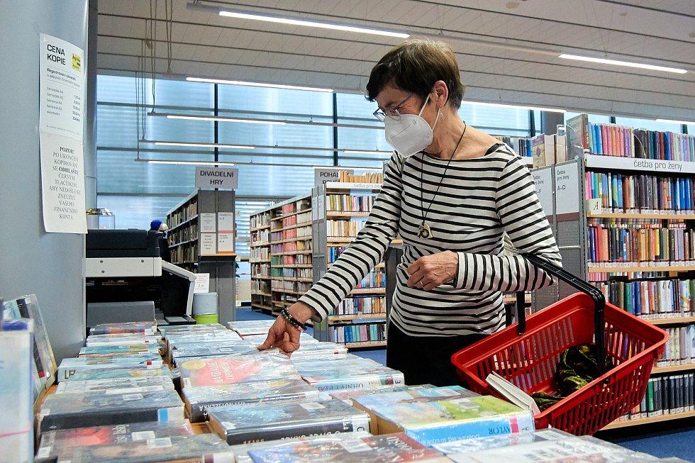 Znovuotevření knihovny v Liberci.