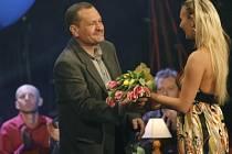Miroslav Krobot z Dejvického divadla převzal Cenu Alfreda Radoka v Divadle v Dlouhé 31. března 2007.