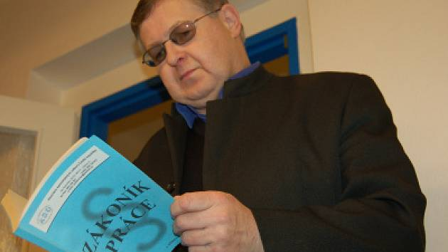 Milan Šubrt, krajský předseda Asociace samostatných odborů (ASO).