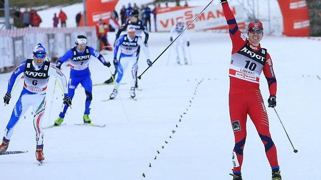 Vítěz mužského individuálního závodu ve sprintu – Ola Vigen Hattestad