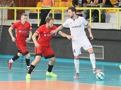 Mistrovská Chrudim porazila ve VARTA futsal lize domácí Zlej sen Liberec 12:1.