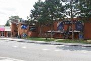 Obchodní centrum v libereckých Pavlovicích.