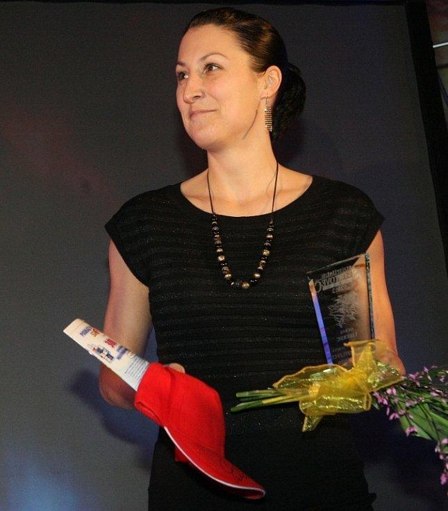 7.místo - kategorie jednotlivec, dospělí, Andrea Cvachová, Sportaerobic Liberec.