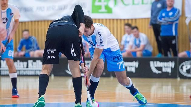 Florbalová Superliga: Česká Lípa vs. Liberec.