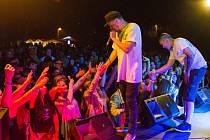 Koncert Paulieho Garanda na liberecké přehradě