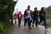 """Charitativní běh """"Běžím, co můžu - pomůžu"""" kolem liberecké přehrady"""