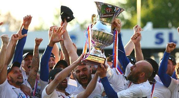 Slovan Liberec se stal mistrem fotbalové Gambrinus ligy.