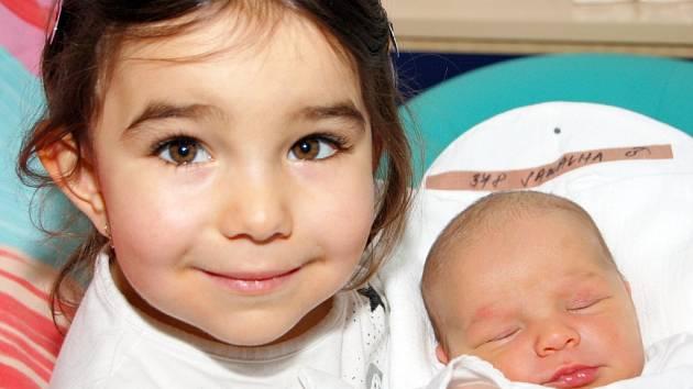 Mamince Simoně Sawalha z Liberce se dne 8. dubna v liberecké porodnici narodil syn Jakub Sawalha. Vážil 3, 22 kg a měřil 49 cm.
