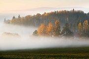 Mlha pod Příchovicemi