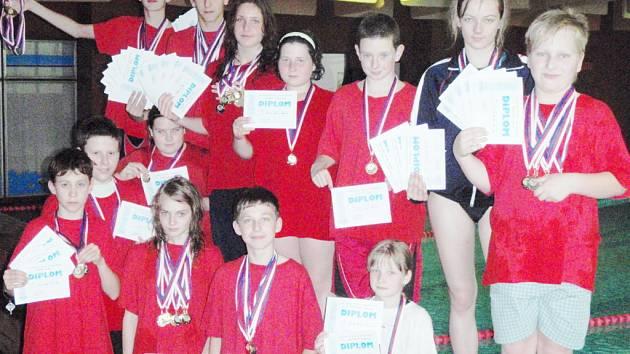 Čtyřiapadesát medailí pro Slavii Liberec