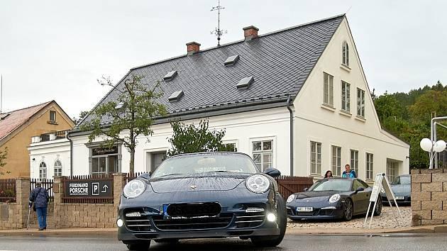 Porscheho dům ve Vratislavicích nad Nisou.