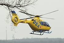 vrtulník záchranky