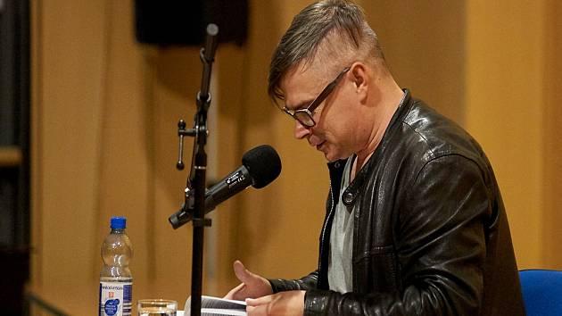 V liberecké knihovně představil svou novou knihu Jaroslav Rudiš.