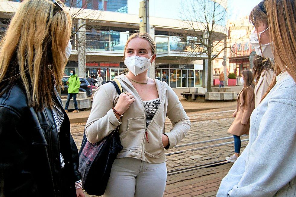 Liberečtí respirátory nosí