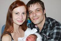 Mamince Karolíně Mikové z Liberce se dne 6. dubna v liberecké porodnici narodil syn David. Měřil 47 cm a vážil 2,8 kg.