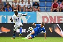 Zápas Liberec - Zlín nakonec skončil vítězstvím Slovanu 1:0.