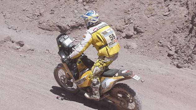 David Pabiška na Dakaru 2011.