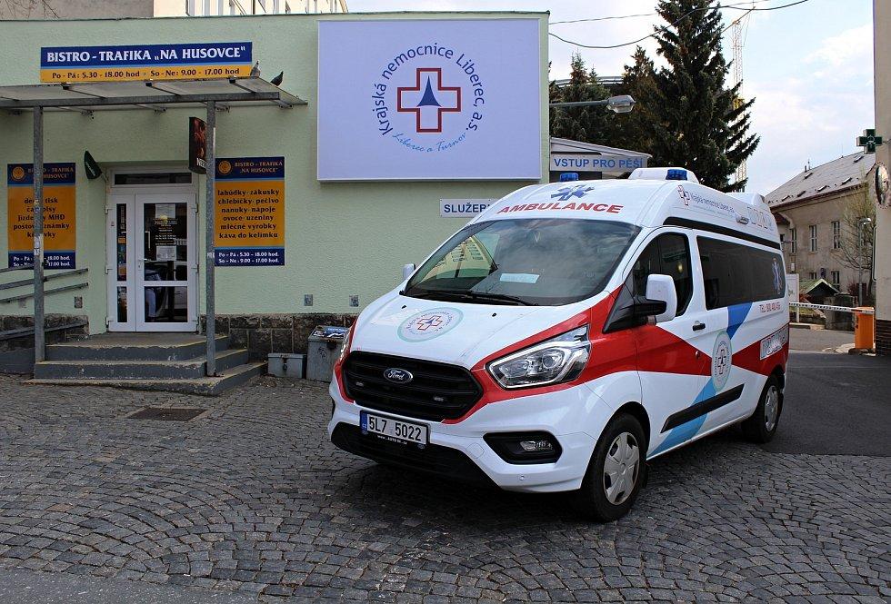 Krajská nemocnice Liberec. Ilustrační foto.