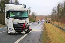 Smrtelná dopravní nehoda u Václavic