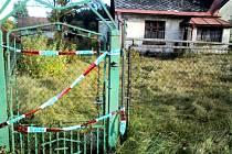 Dům v Lučanech, ve kterém došlo k vraždě.