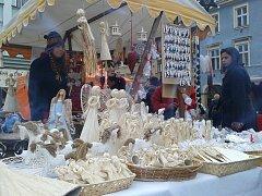 Vánoční trhy v Liberci.
