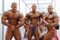 Zleva Radek Lonc, Pavel Vacek a Jaroslav Cink.