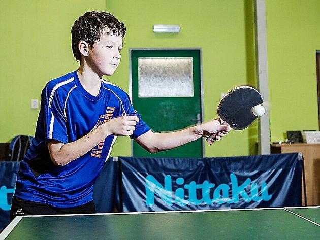 MICHAL BLINKA se stal krajským přeborníkem v kategorii mladších žáků