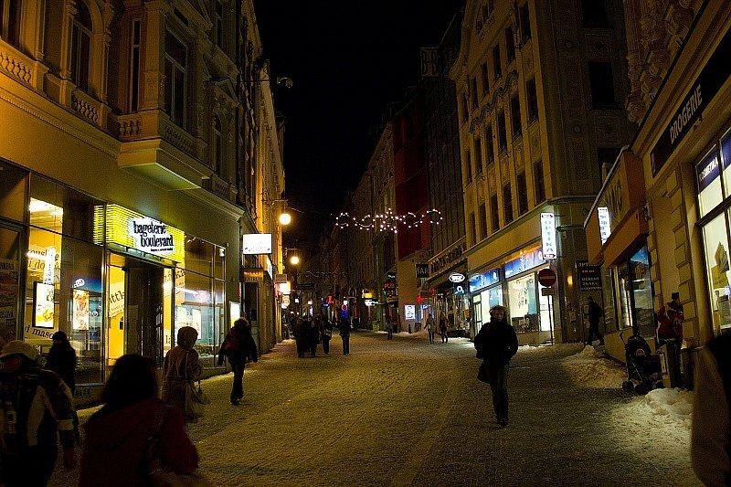 Zimní Liberec.
