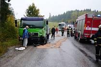 Smrtelná nehoda na Semilsku. Zemřelo jedno dítě